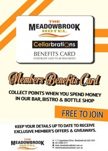 Meadowbrook Membership Card - A3